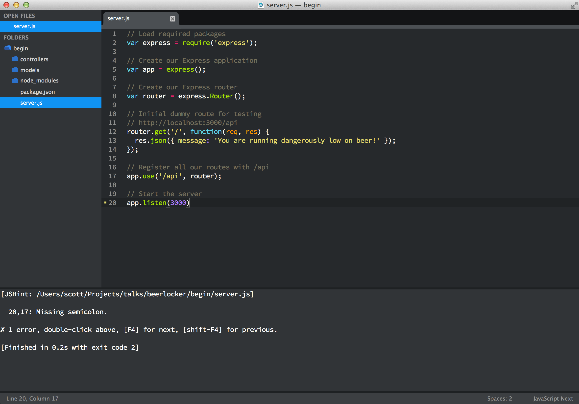 3 Essential Sublime Text Plugins for Node & JavaScript developers - Scott Smith