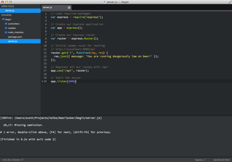 3 Essential Sublime Text Plugins For Node Javascript Developers